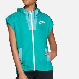 Nike Tech Hypermesh Vest Jacket Full Zip Hooded M